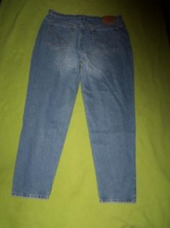 1998 Levis 550 Plus 20M High No Stretch Stonewash Relaxed Taper Jeans