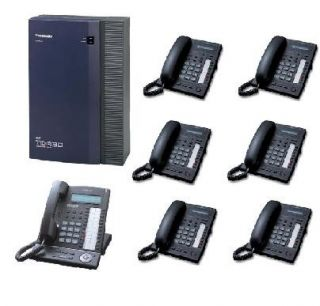 Panasonic KX TDA30 Telephone System 7 Phones incl VAT