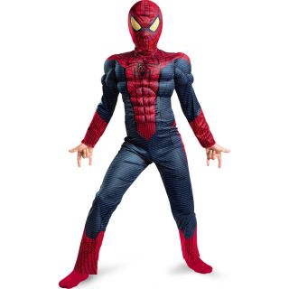 The Amazing Spider Man Light Up Muscle Chest Child Costume