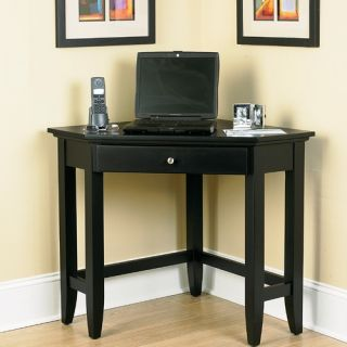 Home Styles Bedford Corner Computer Desk with Easy Glide Drawer