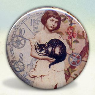 Alice Liddell Holding The Cheshire Cat Wonderland