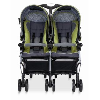 Side by Side Twin Sport Lightweight Stroller Green 7769140