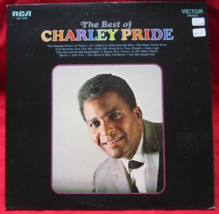 Charley Pride Best of Vol I RCA Victor LP Vinyl Record Country Victor