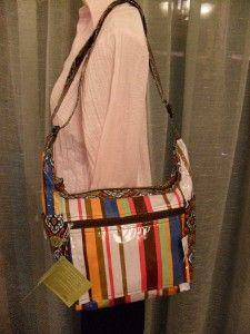 Lily Waters Rain on Me Multi Colored Shoulder Bag Vinyl Spaciousfun