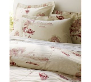 BATEAU Toile French Country Linen Cotton Duvet Cover King Cal