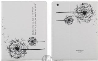 Newest Dandelion Stand Smart Leather Case Cover for iPad 2 The New
