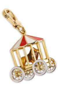 juicy Couture Circus Lion Cage Gold Bracelet Charm
