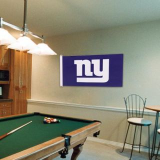 New York Giants 3 x 5 Team Logo Flag Royal Blue