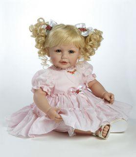 Little Sweetheart Adora Vinyl Baby Toddler Doll Girl