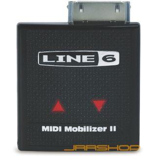 Line 6 MIDI Mobilizer II Hardware MIDI Interface New Open Box