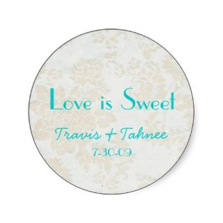background1, Travis & Tahnee, 7 30 09, Love isSticker