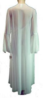 Satin Lace Nightgown Peignoir Set s Honeymoon Luxury Lingerie