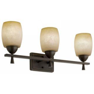 Lithonia Lighting Ferros Three Light Vanity in Antique Bronze 11533