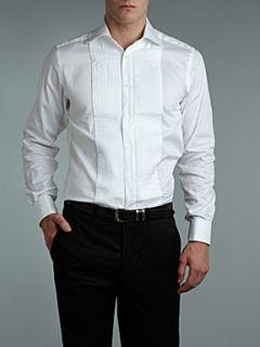 Duchamp Long sleeve double cuff dinner shirt White