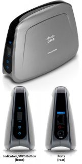 Cisco Linksys WET610N Dual Band Wireless N Game Video Adapter Ethernet