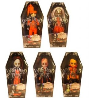 Living Dead Dolls Series 18 Halloween Variant Set of 5