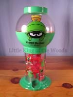 Marvin Martian Toy Push Gumball Machine Warner Bros