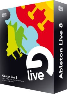 Ableton Live 8 Upgrade from Live 1 6 Open Box