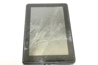 Working as Is  Kindle Fire 8GB D01400 Digital Book Reader