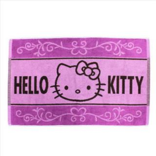 Hello Kitty Bath Area Rug Mat Carpet Hotel Quality Pink Classic Face