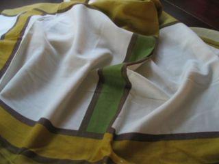 Frank Lloyd Wright Taliesin 50s Tablecloth Schumacher Hand PR