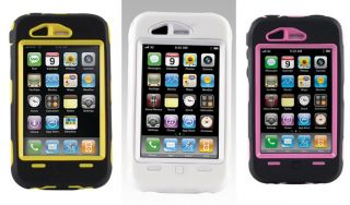 New Otterbox Defender Case for iPhone 3 G 3G 3GS with Holster Belt