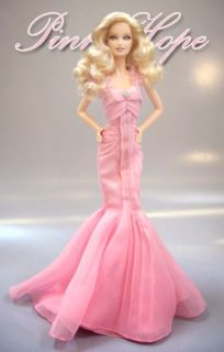 New Mattel Barbie Pink Hope Liston Rosa Limited Doll