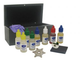Jewelers Professional Deluxe Gold Testing Kit Set Asst New L K