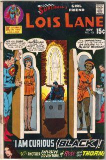 Supermans Girlfriend Lois Lane Comic Book #106, DC Comics 1970 VERY