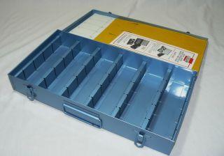 Logan Electric Deluxe Archival Slide File Metal Box Fits 750 Slides No