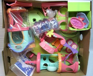 Littlest Pet Shop LPS Original Design Whirl Around and Slide