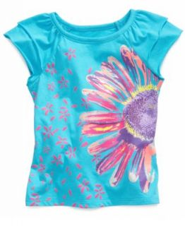 Epic Threads Kids Shirt, Little Girls Ruffle Front Top   Kids