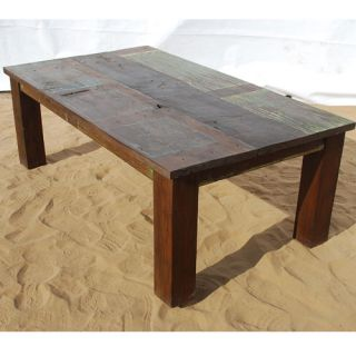 Rustic Solid Wood Living Room Sofa Cocktail Coffee Table Furnitur e