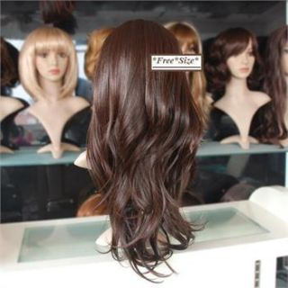 Half head wig wigs, new fashion sexy lovely women girl big wave