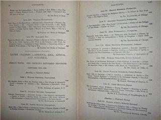 1900 CHRISTIAN HEROES OF THE CROSS   JOHN WYCLIFFE JOHN WESLEY CHARLES