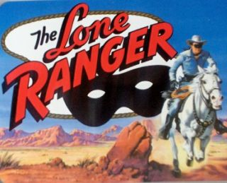 2001 Collectible Lone Ranger Cheerios 60 TH Anniversary Metal Snack