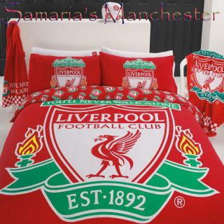 Liverpool Double Bed Quilt Cover Set   Great Gift Idea for a Liverpool