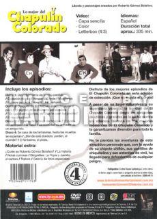 title lo mejor del chapulin colorado edicion limitada format 4dvds