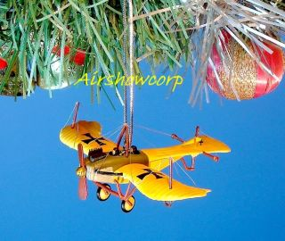 Decoration Ornament Home Party Christmas WW1 European Fighter Planes Z