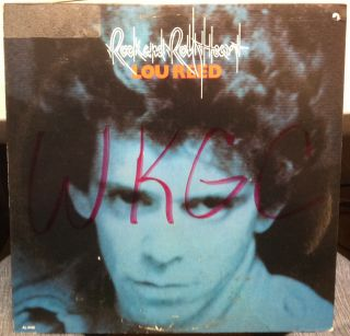 Lou Reed Rock Roll Heart LP Mint Al 4100 Vinyl 1976 Record