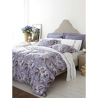 Anya bed linen range in slate   House of Fraser
