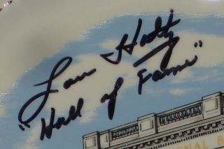 Lou Holtz Signed Museum Display Notre Dame Must L K