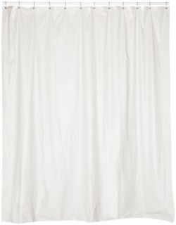 Home Fashions 72 Inch Wide by 84 Inch Long Vinyl Shower Curtain Liner
