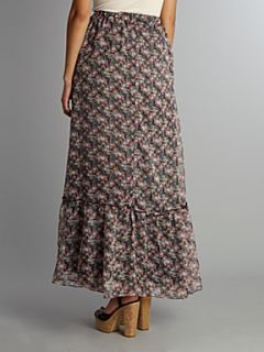 Glamorous Floral maxi skirt Multi Coloured