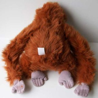 Disney Jungle Book Orangutan Monkey King Louie Plush