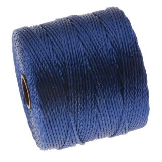 BeadSmith Super Lon Cord   Size #18 Twisted Nylon   Capri Blue / 77