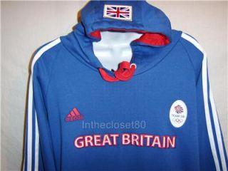 New Official Adidas London 2012 Olympics Team GB Mens Fleece Hoody
