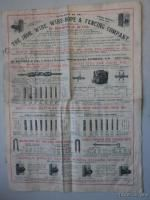 Wire Rope Fencing Co Catalog Antique Barb Wire Fence London