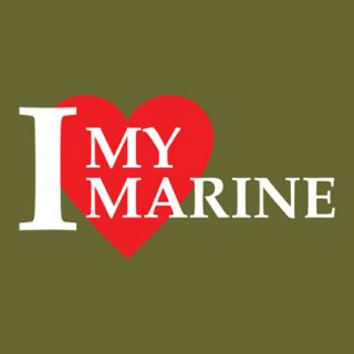 Love My Marine V3 Vinyl Window Decal Sticker VLILMM3