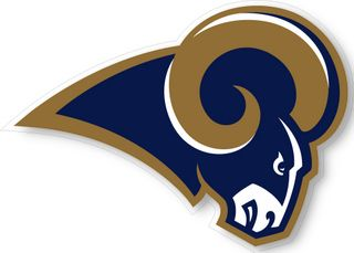 St Louis Rams NFL Logo Wall Window Sticker Decal